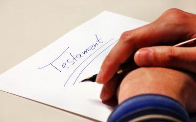 Dernières volontés : que choisir entre testament olographe ou authentique ?
